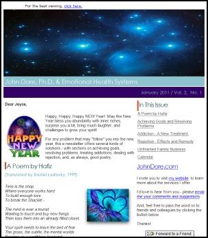 image e-news John Dore, Ph.D.