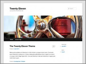 WordPress Theme 2011