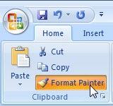 Microsoft Office Format Painter